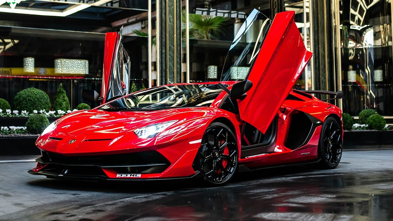 The First Customer Lamborghini Aventador Svj In London Amazing