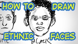 How To Draw Ethnic Faces