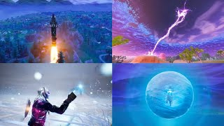 *ALL* Live Events in Fortnite: Battle Royale! (Seasons 3-7) Video