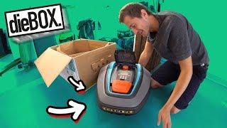 Rasenmähroboter für die BOX! 😍