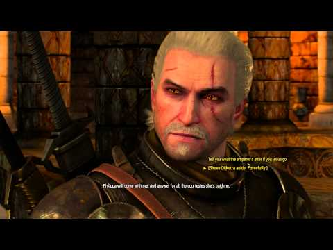 The Witcher 3 - Blindingly Obvious: Geralt Breaks Sigismund Dijkstra's Leg & Leaves with Phillipa