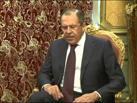 Sergey Lavrov & Saad Hariri   Встреча С.Лаврова и С.Харири