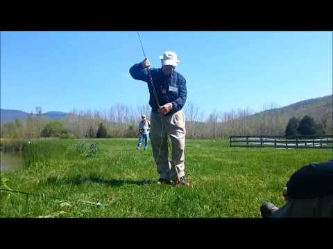 Fly Casting Lesson With Lefty Kreh