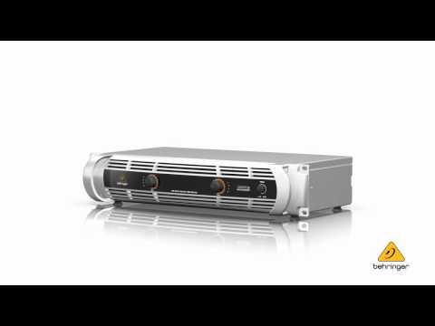 BEHRINGER iNUKE NU1000—Ultra-Lightweight, High-Density 1000-Watt Power Amplifier