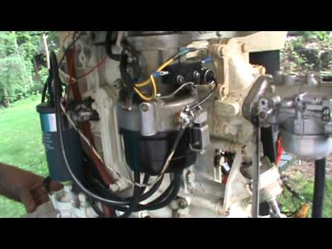 Force Outboard Motor Wiring Diagram Automotive Ignition For Chrysler Outboard Tutorial Youtube