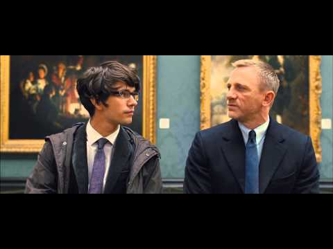 Skyfall - James Bond meeting Q (1080p)