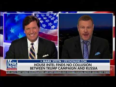 House Intel Finds No Collusion Between Trump Campaign & Russia - Tucker Carlson