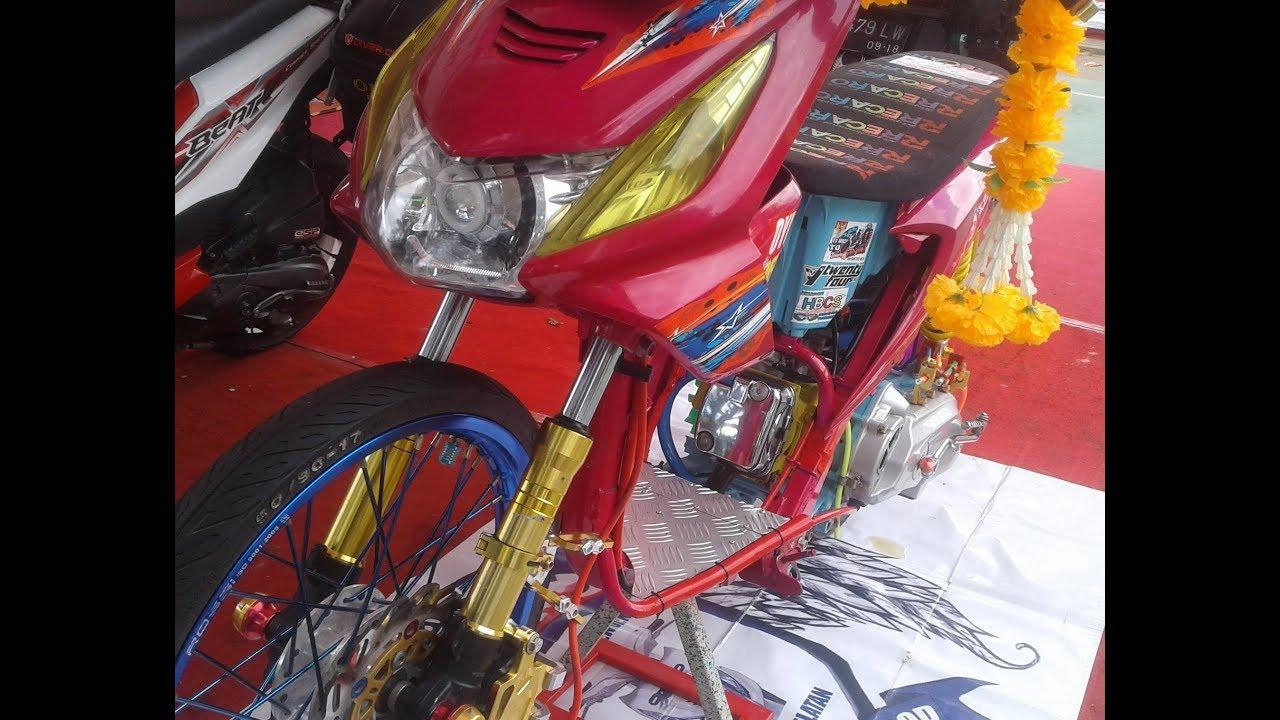 Hasil gambar untuk modifikasi honda beat racing thailook