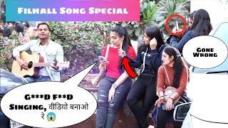 Filhall Song Experiment Prank on Delhi Girls | Akshay Kumar Ft Nupur Sanon | Siddharth Shankar