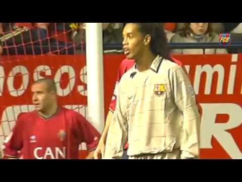Ronaldinho's wonder goal vs Osasuna (2004)
