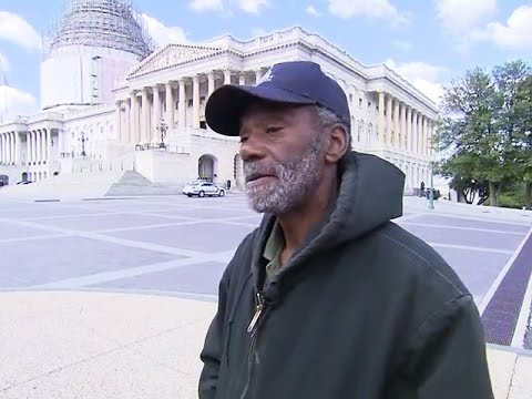 U.S. Capitol Hill Has Homeless Workers