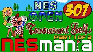 307/710 NES Open Tournament Golf (Part 1/3) - NESMania