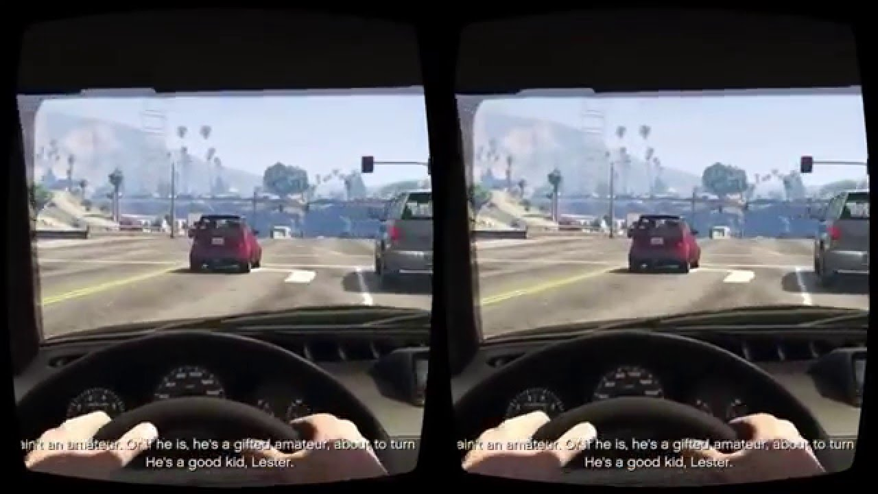 GTA 5 mod Oculus Rift VR 3D gameplay video 2016