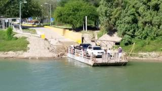 The Last Hand Drawn Ferry on the Rio Grande in Los Ebanos, TX