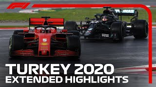 2020 Turkish Grand Prix: Extended Race Highlights