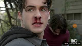 Download Video Teen Wolf season 6 episode 16 Liam breaks Theo's nose MP3 3GP MP4