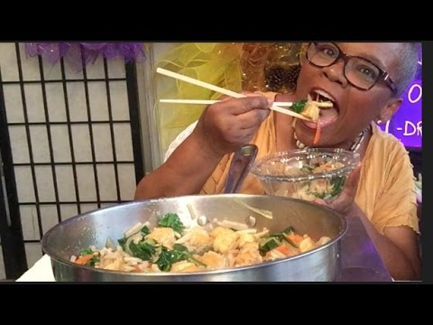 TOFU STIR FRY • MUKBANG -HOW TO MAKE SOUL FOOD STYLE