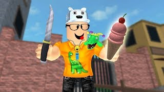 ROBLOX: THE MURDER ADDICTED TO ICE CREAM! -Play Old man