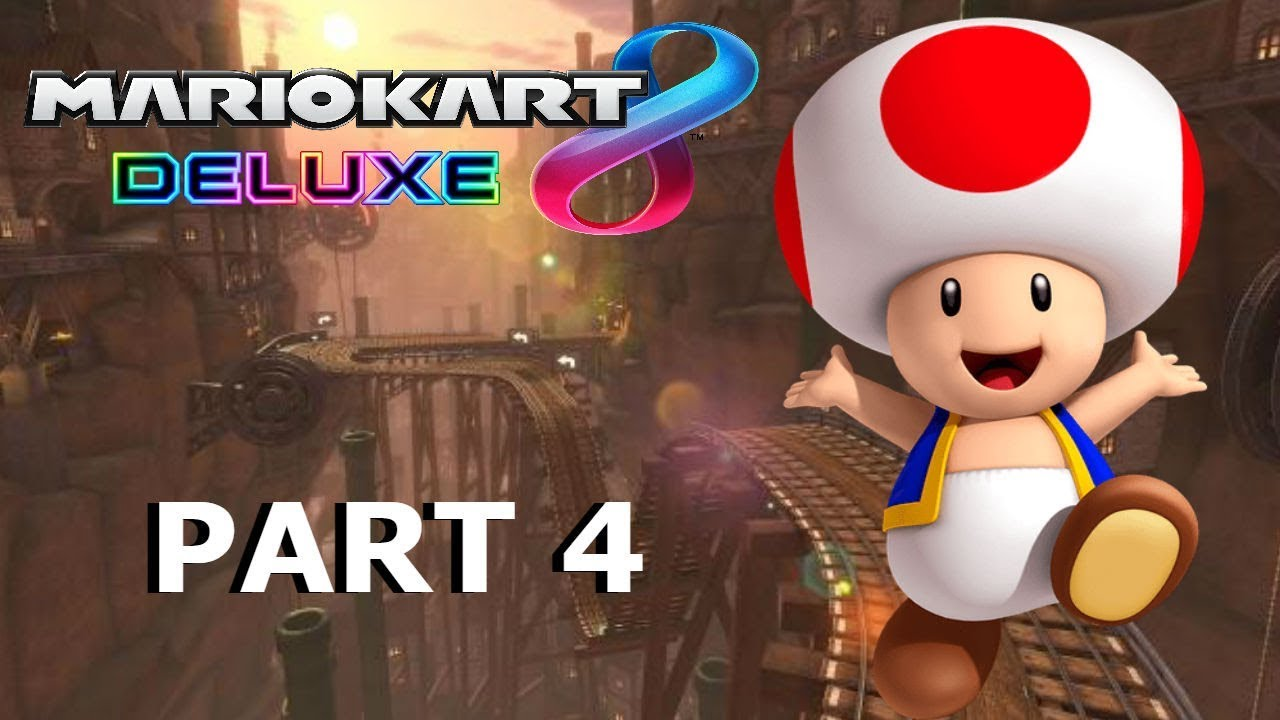 I Failed As A Mushroom Mario Kart 8 Deluxe Gameplay Walktrough