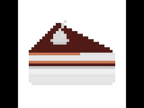 Pixel Art Dune Part De Gâteau Youtube