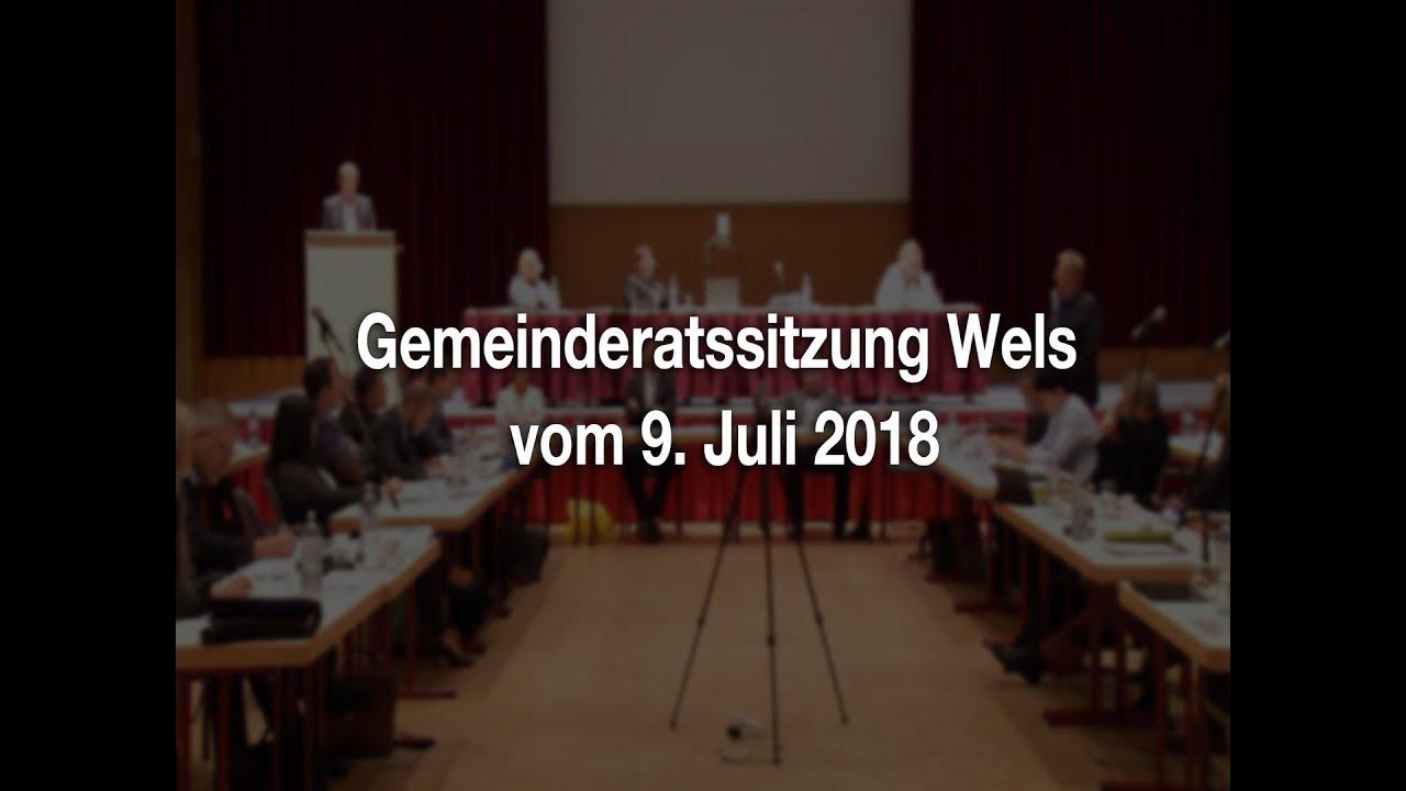 Gemeinderatssitzung Wels - 09.07.2018youtube.com