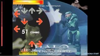 Jugando Stepmania-Halo Intro