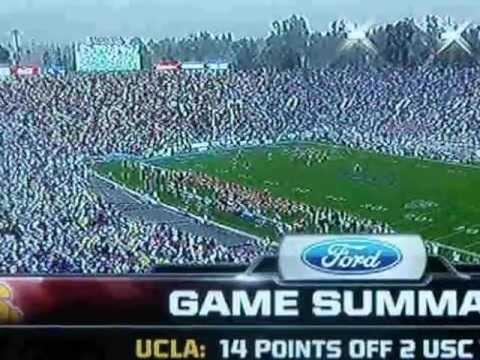 USC vs UCLA 11-17-2012