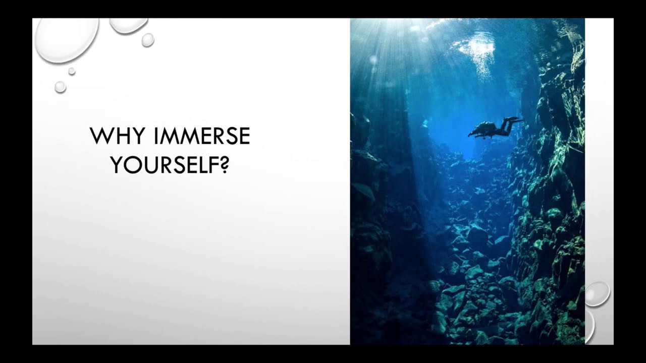 Preview image for Immersion Experience video