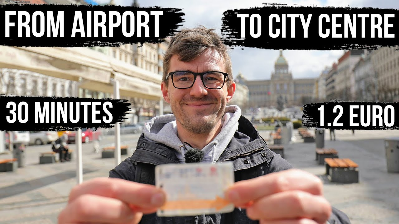 Fast & Cheap: From Prague Airport to the City Centre for just 1.2 EUR (2021 Honest Guide)
