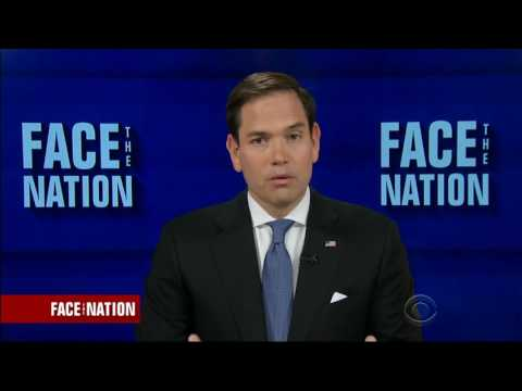 Rubio discusses Russia, Cuba, health care reform on CBS Face the Nation