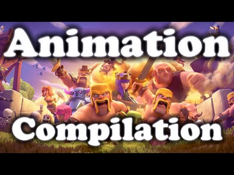 CLASH OF CLANS FULL MOVIE ANIMATION | HD 2016 FEBRUARY