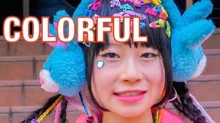 10 COLORFUL Street FASHIONS 2014/12 | Kawaii Harajuku Tokyo Japanese | 原宿ファッションスナップ2014/12 Thumbnail