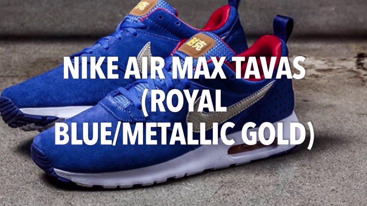Air Max Tavas Gold