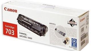 Как заправить картридж Canon 703 (1010)(В этом видео показано как заправить лазерный картридж Canon 703 он же 1010., 2013-09-27T19:56:20.000Z)