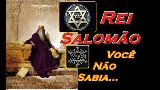 Rei Salomão - A História Que Você Não Sabia!!!