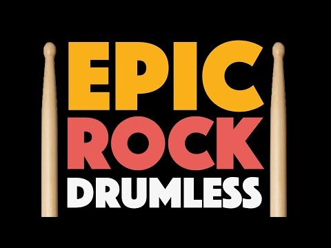 Epic Rock Drumless Backing Track