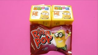 Minions Surprise Cubes & Minion Ring Pop Candy