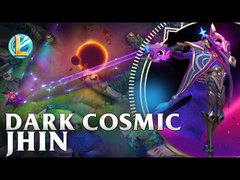 Dark Cosmic Jhin Skin Spotlight - WILD RIFT
