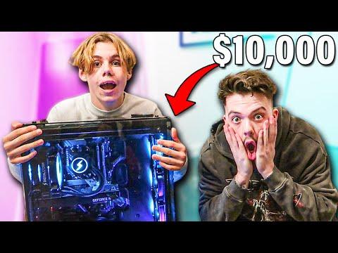 Surprising The Kid Laroi with $10,000 PC