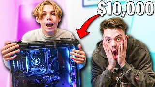 Surprising The Kid Laroi with $10,000 PC