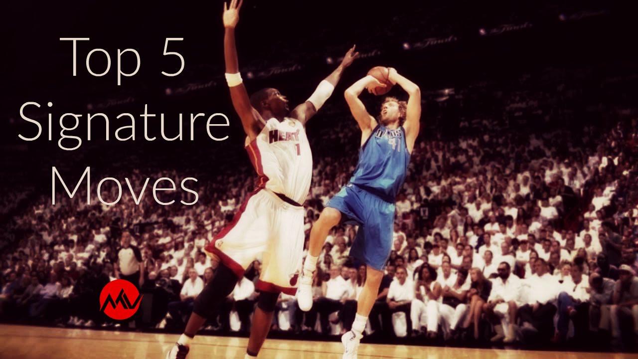 7740da2d78ed Top 5 NBA Signature Moves - YouTube