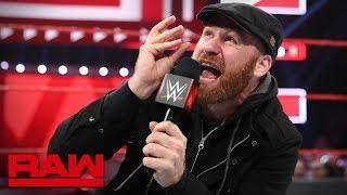 Sami Zayn gives the WWE Universe a psychology lesson: Raw, April 29, 2019