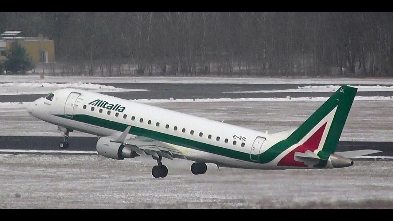 Alitalia CityLiner AZ 423 Embraer ERJ-175-200LR EI-RDL ... - photo#24