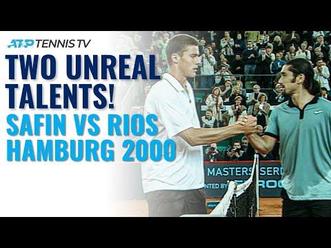 Two Unreal Talents! Marat Safin vs Marcelo Rios: Hamburg 2000 Semi-Final Tennis Highlights