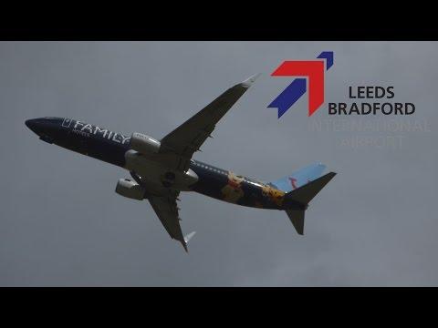 Spotting at Leeds Bradford Airport | 21th April 2017