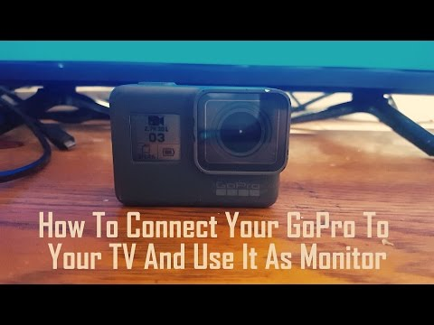 How To Connect Your GoPro To Your TV And Use It As Monitor
