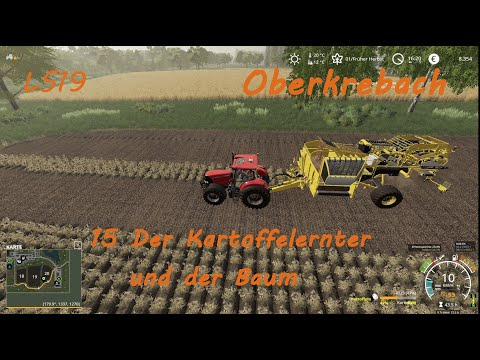 LS19 Oberkrebach 15 - Der Kartoffelernter Und Der Baum