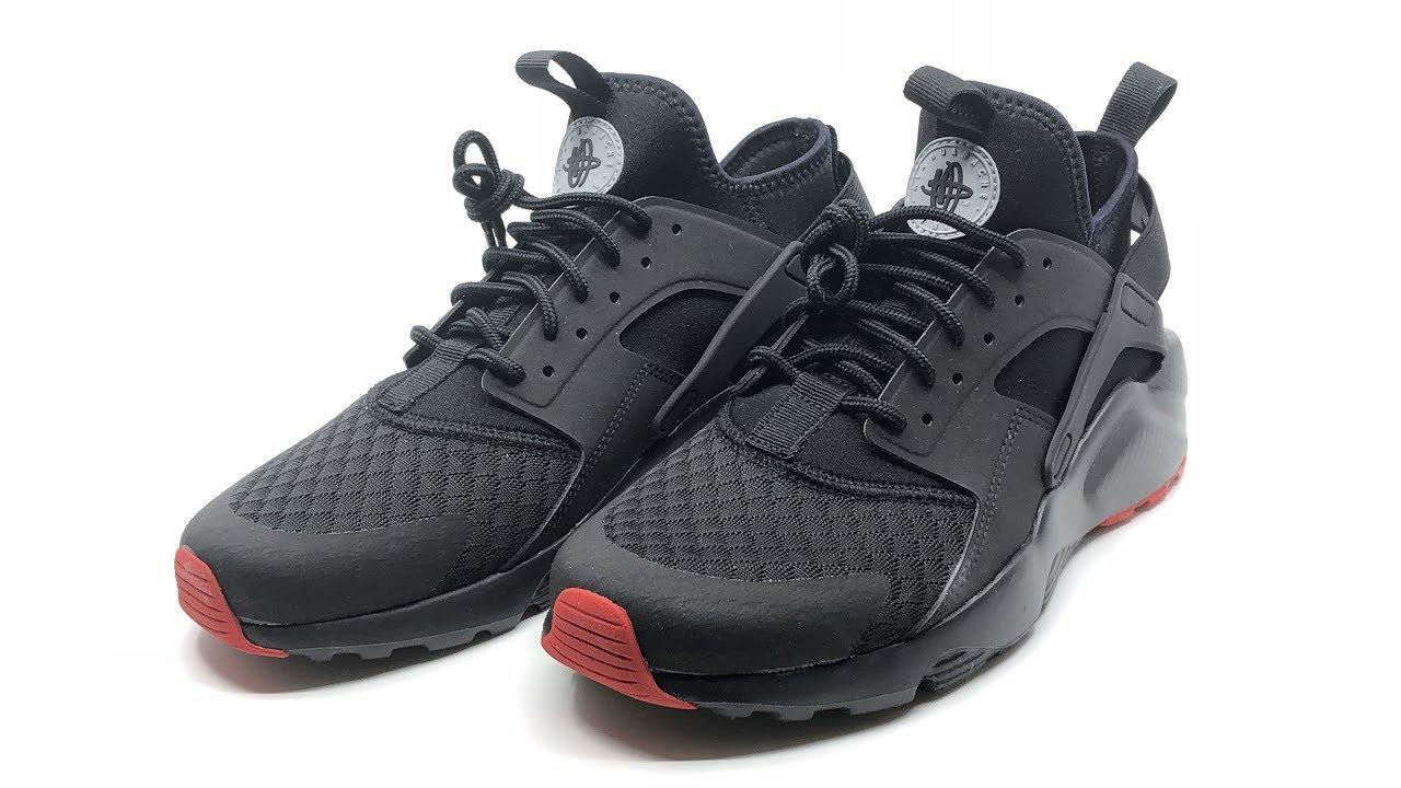 c60e16ce64a6 Nike Air Huarache Run Ultra Black
