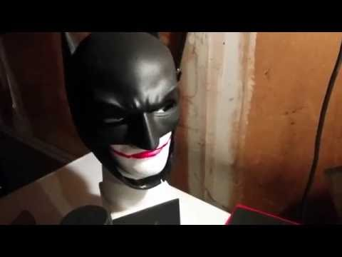 Batman cowl Part 1 - mask diy build