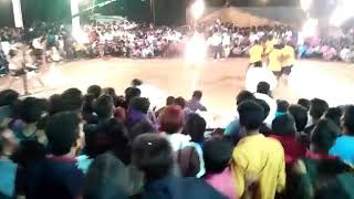 Accident during kabaddi match